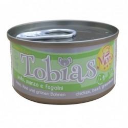 TOBIAS DOG MENU POUL.,BOEUF...