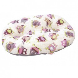 COUSSIN OVALE HIBOU