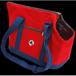 SAC GISELLE BLUE/RED...