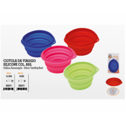 SILICONE TRAVELLING BOWL...