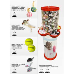 DISPLAY JOUET CHAT 584PC