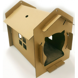 CARTBOARD CAT HOUSE VILLA...