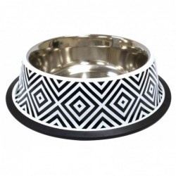 STEEL BOWL TWIGGY DIAMOND