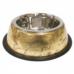 STEEL BOWL LUXURY GOLDEN