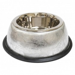 STEEL BOWL LUXURY SILVER