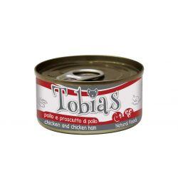TOBIAS DOG CHICKEN AND CHICKEN HAM 85 gr