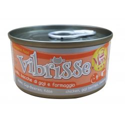 VIBRISSE CAT MENU CHICKEN GOJI,CHEESE 70g