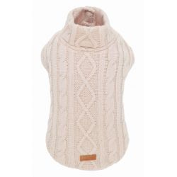 SWEATER WINTER TRAIL WHITE