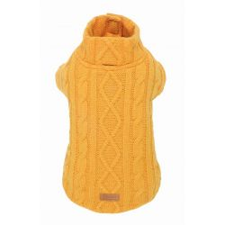SWEATER WINTER TRAIL MUSTARD
