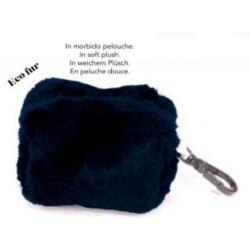MINIBAG PLUSHIE BLUE  6X4 CM