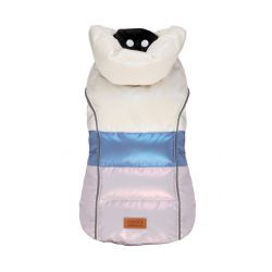 PADDED JACKET PEARLY DREAM BLUE